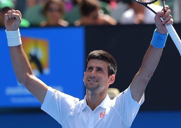 Novak Djokovic cruises into the third round at Australian Open