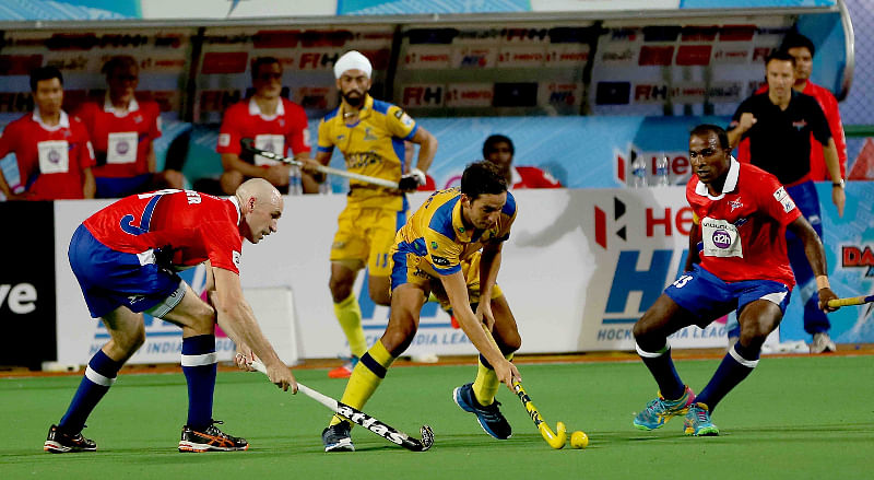 Dabang Mumbai claw back to earn draw with Punjab Warriors in HIL thriller