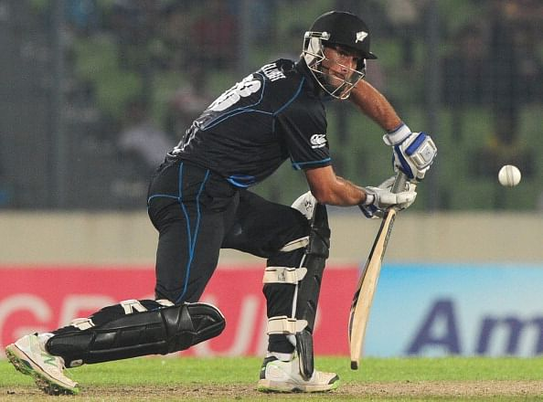 Grant Elliott earns a recall to New Zealand's World Cup 2015 squad; Jimmy Neesham dropped