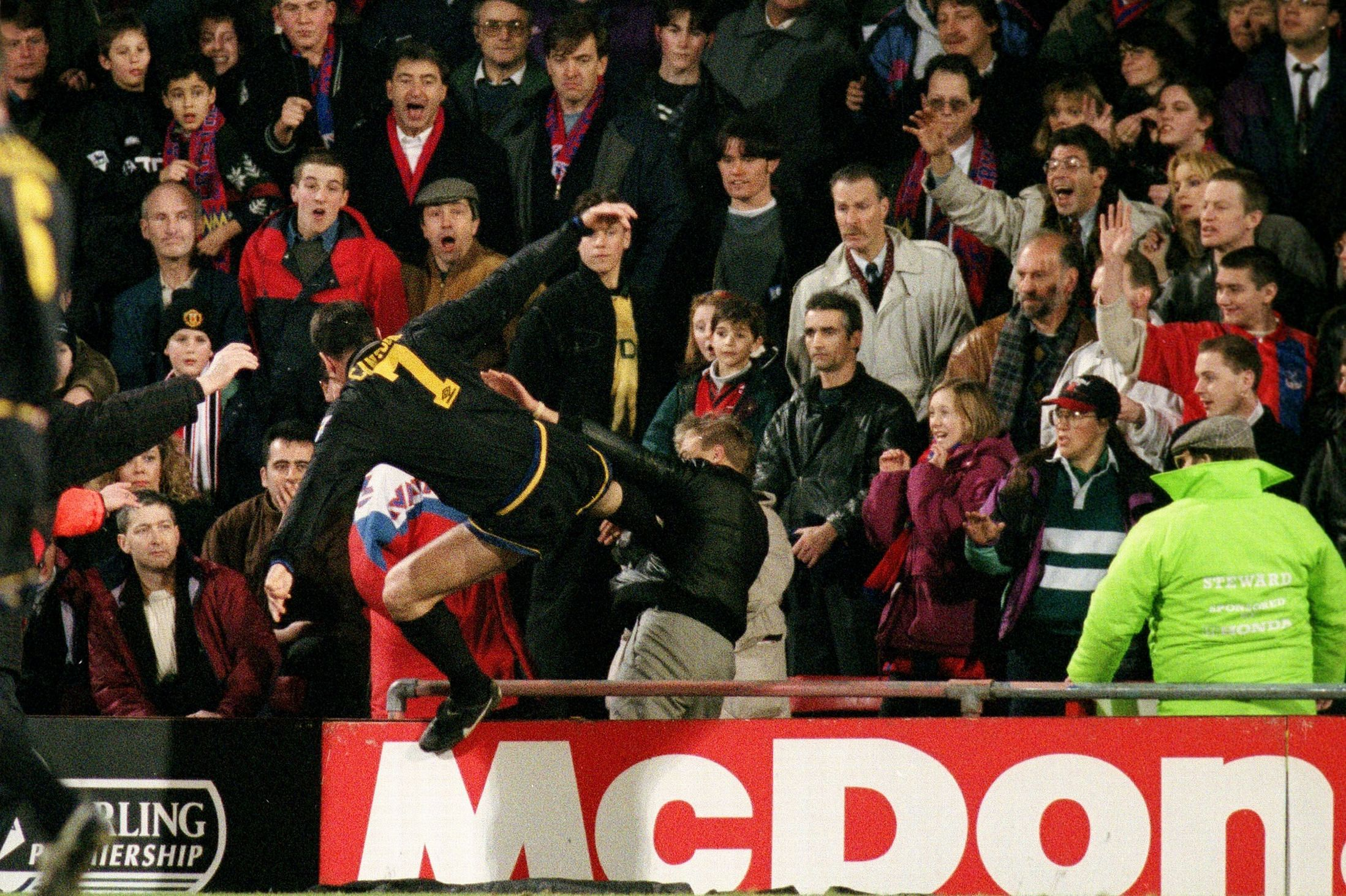 From the vault: Revisiting Eric Cantona's infamous 'Kung Fu' kick