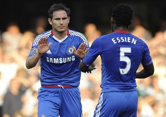 Michael Essien: Facing Chelsea at Stamford Bridge will be difficult for Frank Lampard