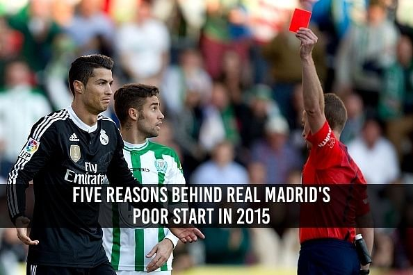 Why Real Madrid's form has dipped in 2015