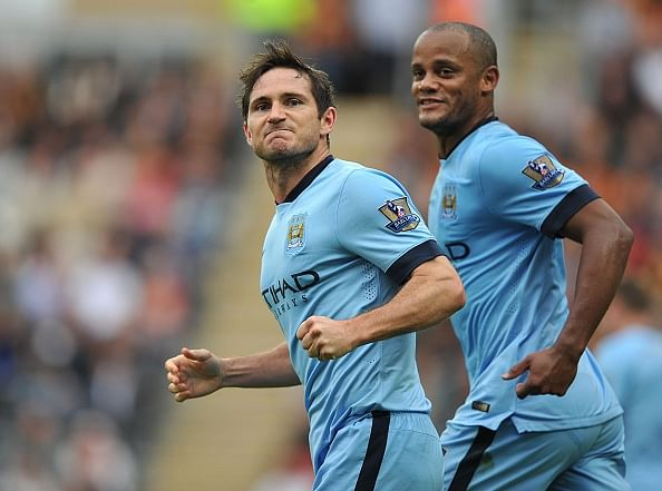 How Frank Lampard played for Manchester City after signing for New York City FC