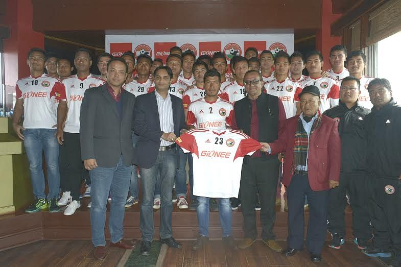 Gionee to sponsor Shillong Lajong in the 2014-15 I-League