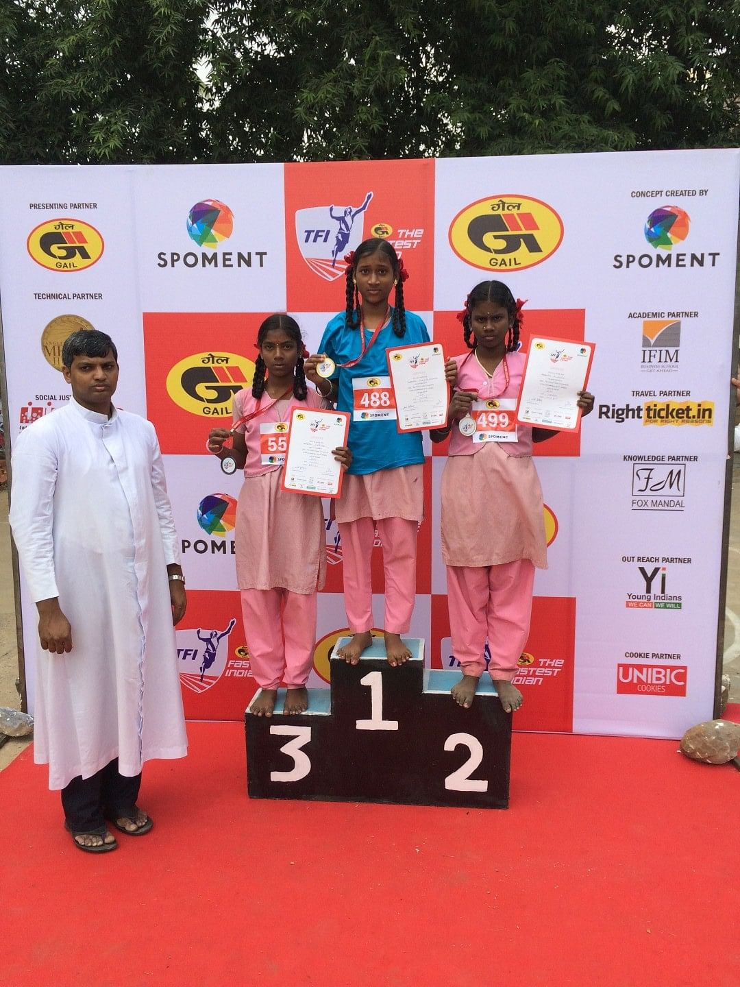 GAIL - The Fastest Indian results from Chennai
