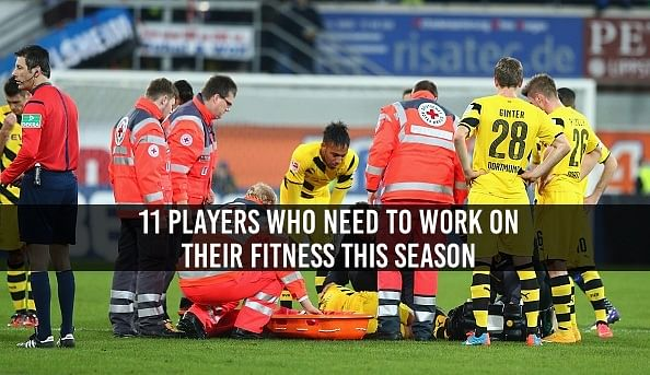 11 Players who need to work on their fitness this season