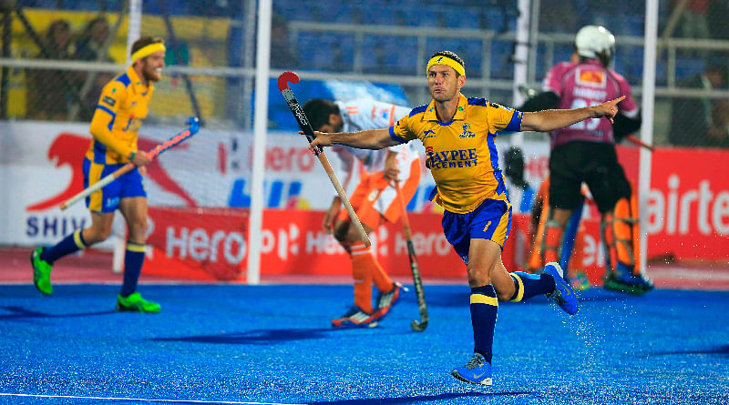 Jamie Dwyer's brace helps Punjab Warriors register clinical win over Kalinga Lancers