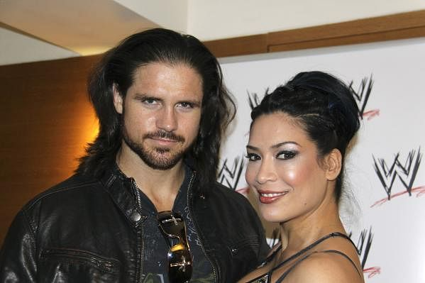 Remember John Morrison and Melina from MNM  Even if the answer is no    Wwe John Morrison And Melina Kiss