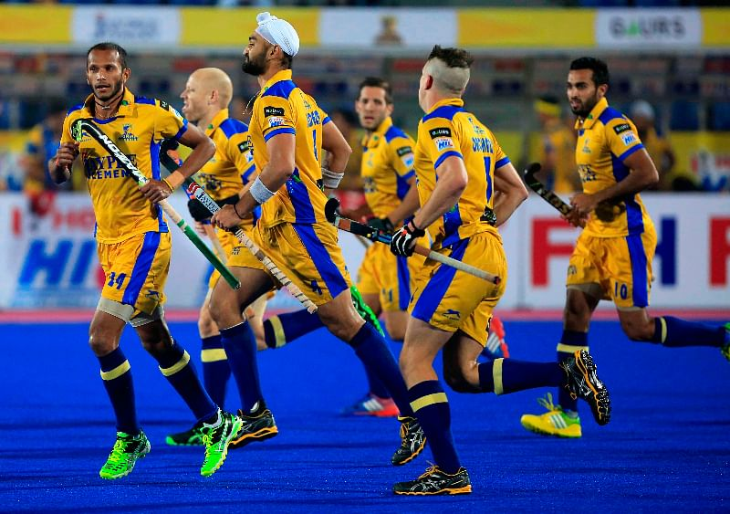 Late strikes help Punjab Warriors clinch exciting win over Delhi Waveriders