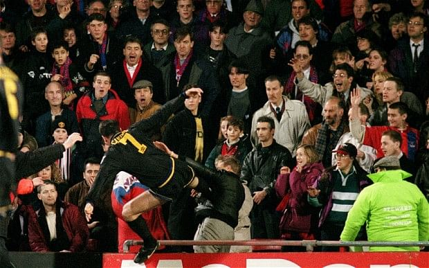 'When the seagulls followed the trawler' - Remembering Cantona's famous kung-fu kick