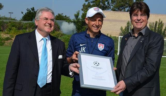 Jürgen Klinsmann nominated for the 2015 German Football Ambassador award