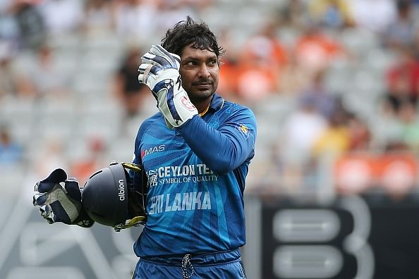 Kumar Sangakkara breaks Adam Gilchrist's world record for most ODI wicketkeeping dismissals