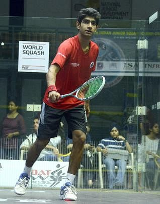 Three Indians in the Quarter finals in the British Junior Open squash