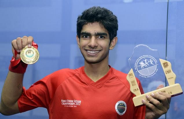 Kush Kumar enters the semi-finals of the British Junior Open Squash Championship