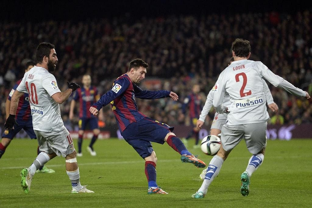 Stats: Lionel Messi's scoring record for Barcelona against all Spanish clubs