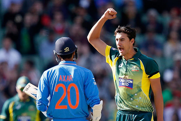 Australia beat India by four wickets to register second successive win in tri-series