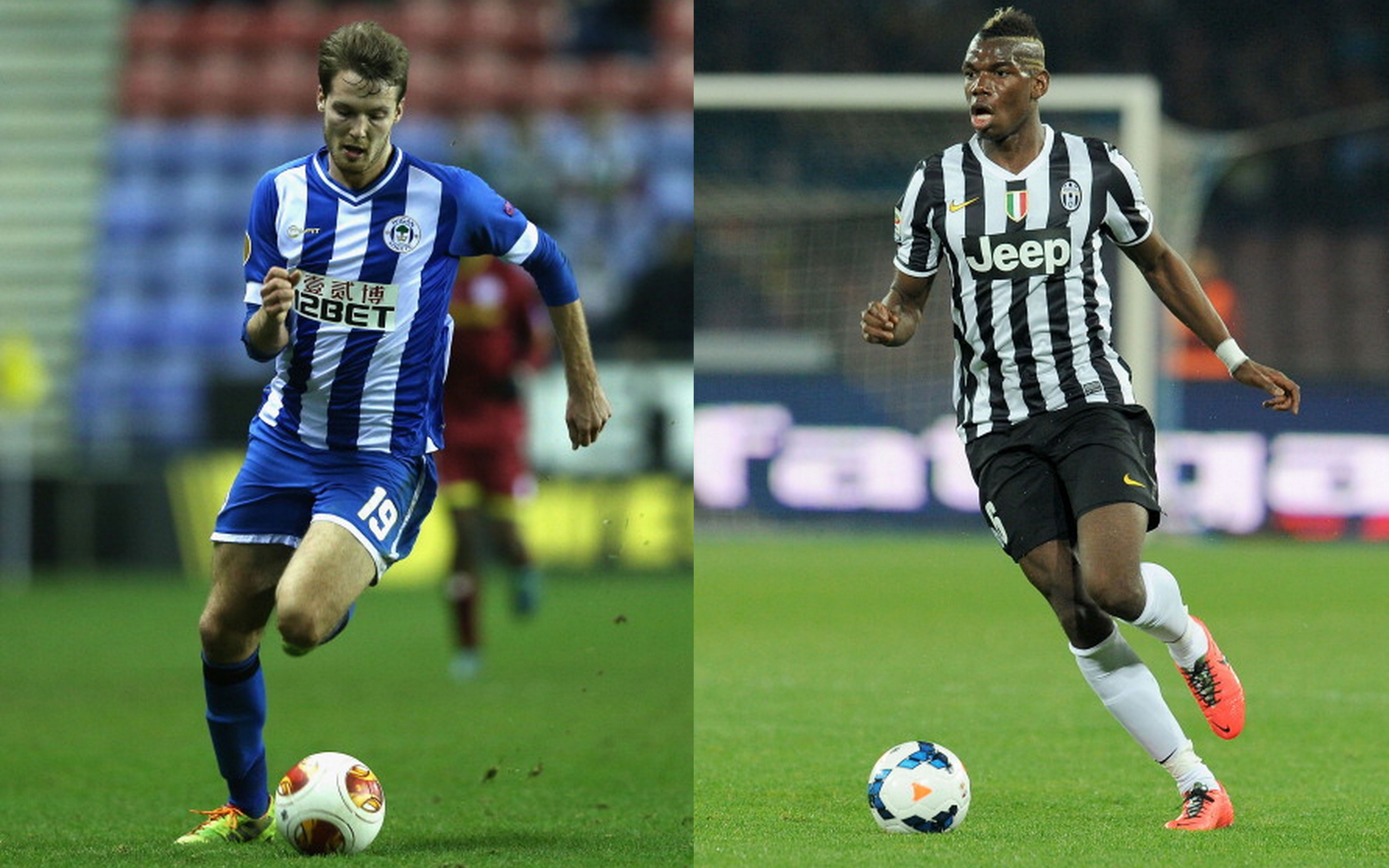 Divergent careers of the two possible heirs to Paul Scholes - Nick Powell and Paul Pogba