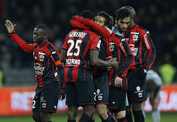 Nice upset Marseille 2-1; deny them top spot in Ligue 1