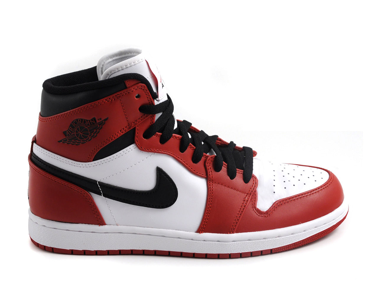 Air Jordan Red And Black Shoes