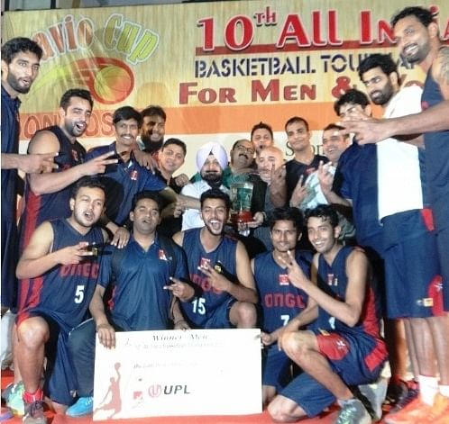 ONGC win Savio Cup All-India Basketball Tournament