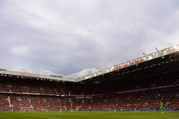 Manchester united s home ground old trafford infested with mice