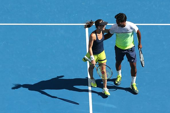 Leander Paes reaches Australian Open final, Sania Mirza crashes out in semis