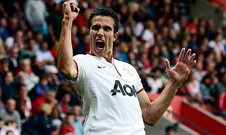 Robin van Persie's ankle injury to be a major setback for Manchester United