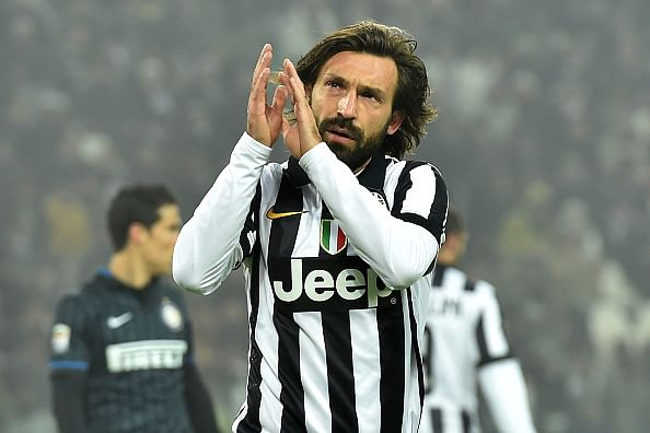 Andrea Pirlo picks his Champions League dream team with Messi and Inzaghi up front