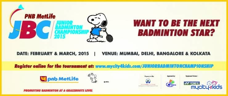 Inviting entries for 'PNB MetLife Junior Badminton Championship'