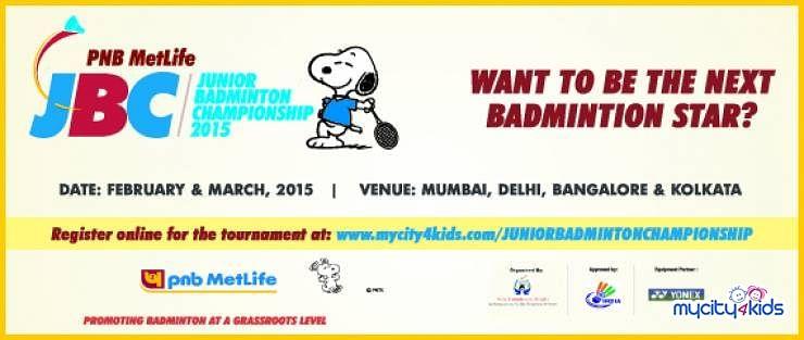 Inviting entries for 'PNB MetLife Junior Badminton Championship'