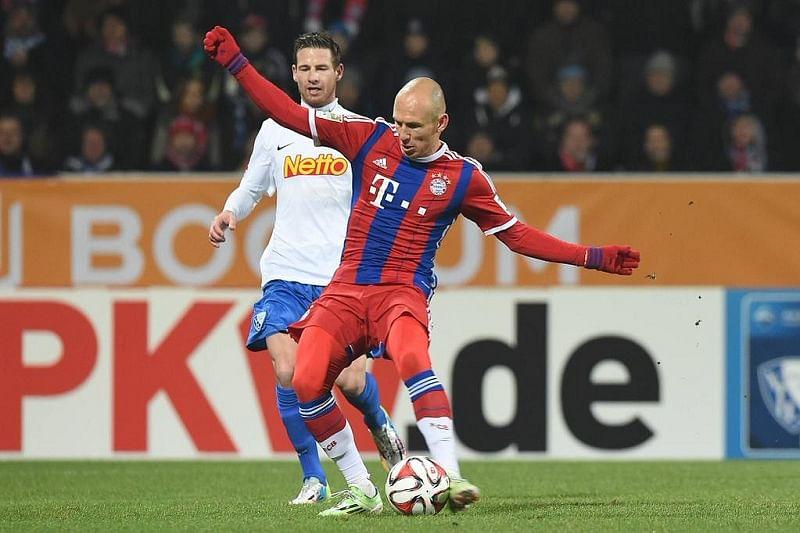 Video: Bayern Munich's Robben scores textbook goal during a friendly against Bochum