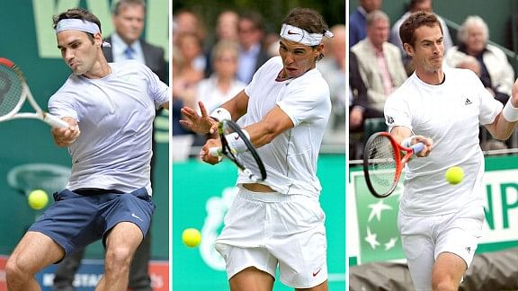 2015 Australian Open draw: Roger Federer, Rafael Nadal and Andy Murray in the same half