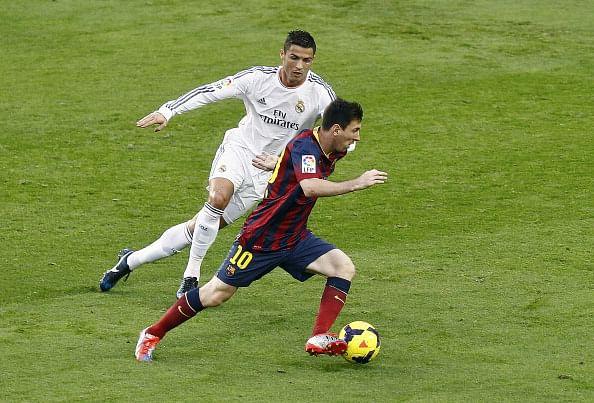 Stats: Comparison between Cristiano Ronaldo and Lionel Messi for 2014/15 season
