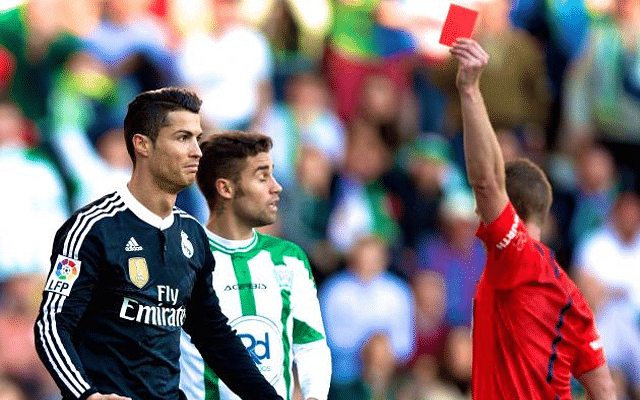 Referee report might help Cristiano Ronaldo avoid 'violent conduct' charge