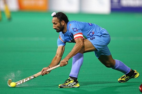 Sardar Singh suspended for one game of HIL