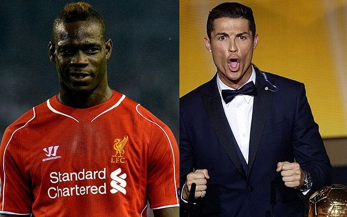 Video: Mario Balotelli imitates Cristiano Ronaldo\'s scream after scoring with him in FIFA
