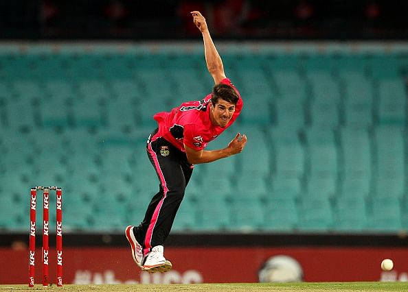 Sean Abbott receives Bradman Young Cricketer of the Year award