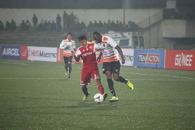 Shillong Lajong edge past Mumbai FC with a narrow 1-0 win