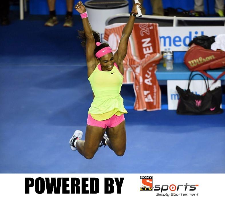 Serena Williams wins the 2015 Australian Open