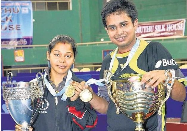 Soumyajit Ghosh and Mouma Das win National Table Tennis Singles titles