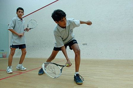 Indian squash teams win easily