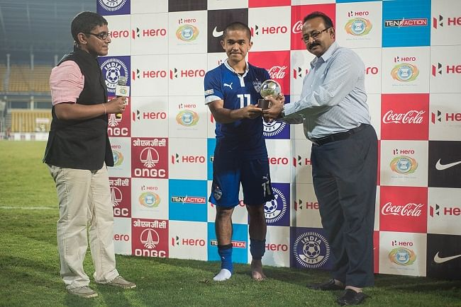 Dempo have done well but so have we, not focusing on opponents: Sunil Chhetri