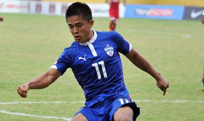 Sunil Chhetri recalls the day Bengaluru FC manager dropped him from the starting XI on Sir Alex's advice