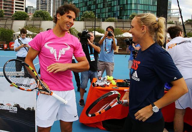 Rafael Nadal's racquet now has a power button!