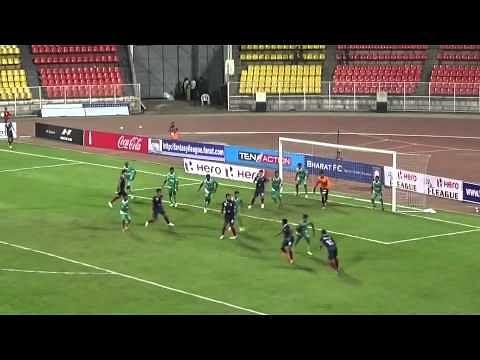 Video: Bharat FC 2-0 Salgaocar FC - Match highlights
