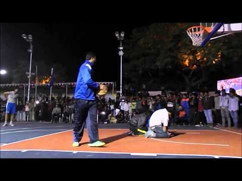 Indian dunkers show off their skills at the 65th Senior National Basketball Championship