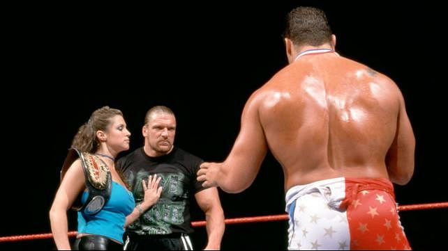 stephanie mcmahon married kurt angle