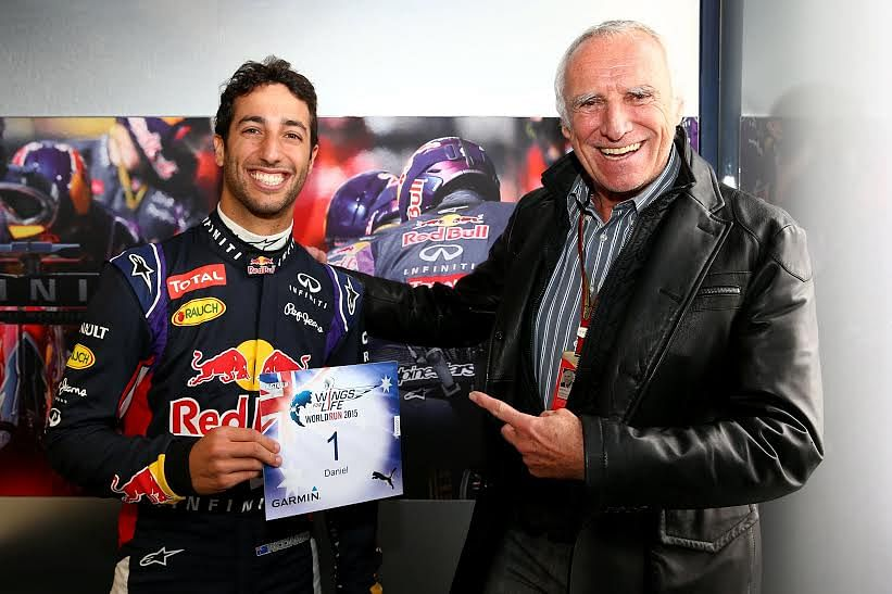 Daniel Ricciardo to race with the number 1 for wings for life