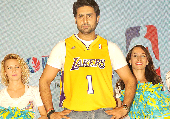 Abhishek Bachchan becomes first Indian to participate in NBA All-Star Celebrity game