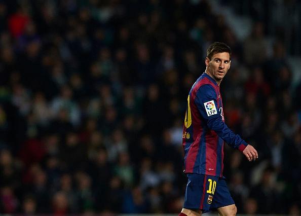 Lionel Messi misses Barcelona training session